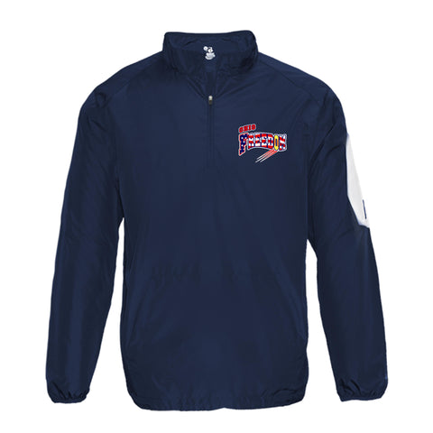OHIO FREEDOM FASTPICH BADGER WARMUP JACKET