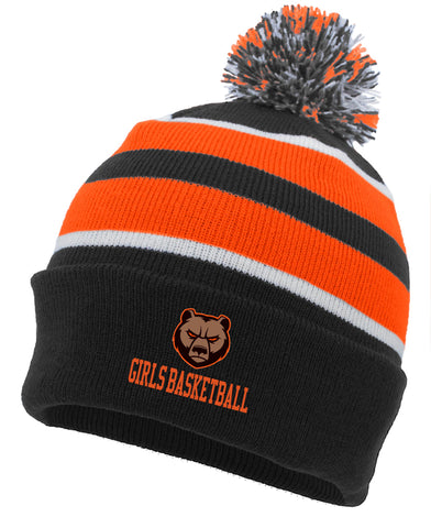 Padua Girls Basketball Pom Pom Beanie