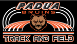 Padua Track & Field Badger Dry Fit T-Shirt (Mens or Ladies and Long Sleeve or Short Sleeve))