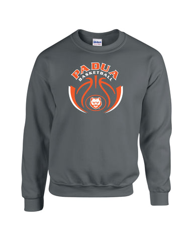 Padua Girls Basketball Crewneck Sweatshirt