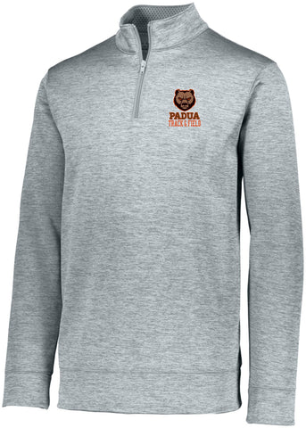 Padua Track & Field Augusta Sportswear Stoked Heather Tonal 1/4 Zip (Mens or Ladies)
