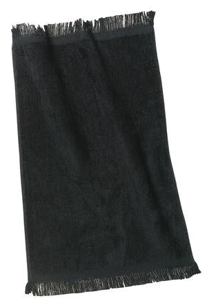 Black Football Officials Towel