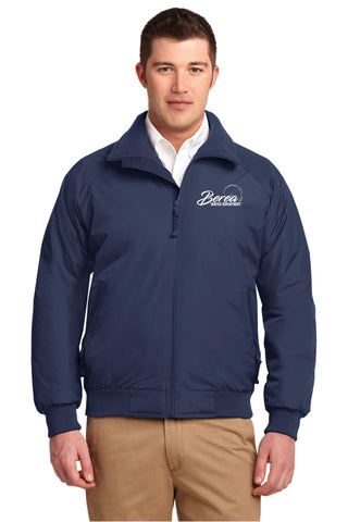 Berea Service Dept Port Authority Challenger Jacket Navy Blue