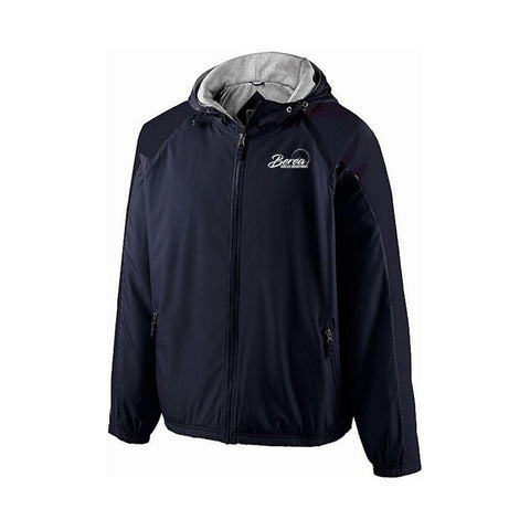 Berea Service Dept. Holloway Homefield Jacket Navy Blue