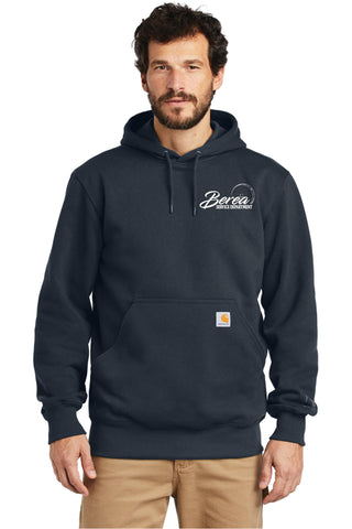 Berea Service Dept. Embroidered Carhartt Rain Defender Heavyweight Hooded Sweatshirt
