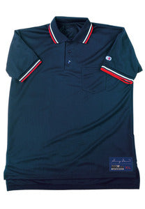 Cliff Keen Gerry Davis Mesh Umpire Shirt (Navy, Powder Blue, or Black)