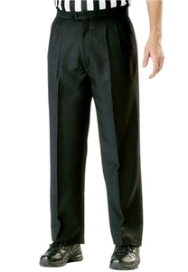 Cliff Keen Polyester Pleated Black Pants