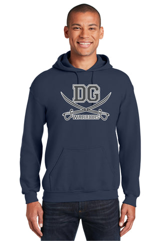 DG Warriors 50/50 Hooded Sweatshirt