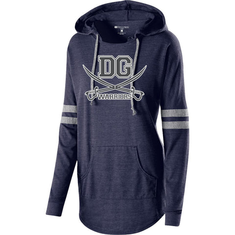 DG Warriors Holloway Ladies Hooded Low Key Pullover