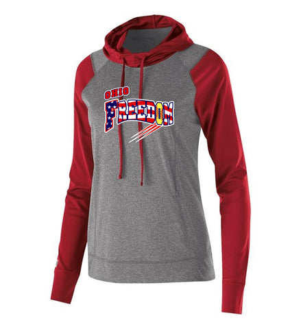 OHIO FREEDOM LADIES HOLLOWAY ECHO HOODIE
