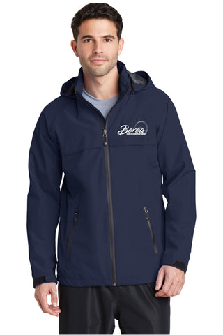 Berea Service Dept Port Authority Navy Blue Torrent Waterproof Jacket
