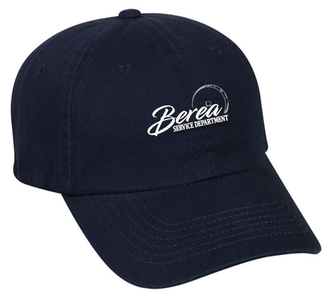 Berea Service Dept. New Era Unstructured Adjustable Hat
