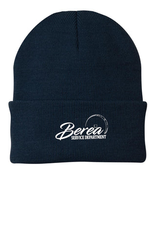 Berea Service Dept Knit Winter Hat