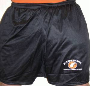 Mesh Shorts with Pockets and NOOA Logo