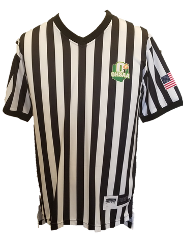 OHSAA Sublimated Basketball Referee Shirt