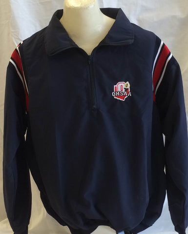 OHSAA 3N2 Sports Umpire Half-Zip Jacket