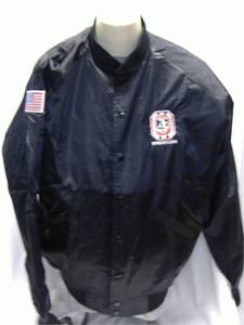OWOA Cardinal Wrestling Jacket with Snap Front