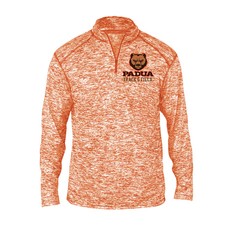 Padua Track & Field Embroidered Badger Blend 1/4 Zip (Mens or Ladies)