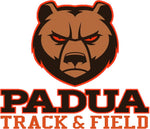 Padua Track & Field Badger Sport Heather Fleece 1/4 Zip