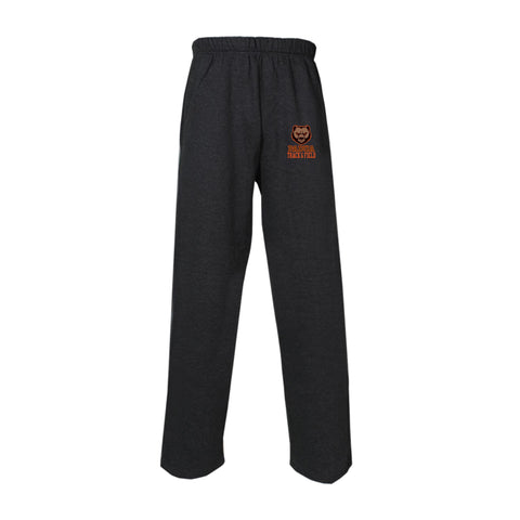 Padua Track & Field  Open Bottom Gildan Sweat Pants With Pockets