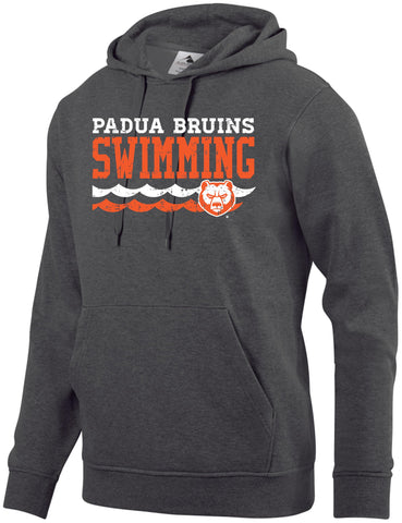 Padua Swimming Augusta Sportswear 60/40 Fleece Hooded Sweatshirt
