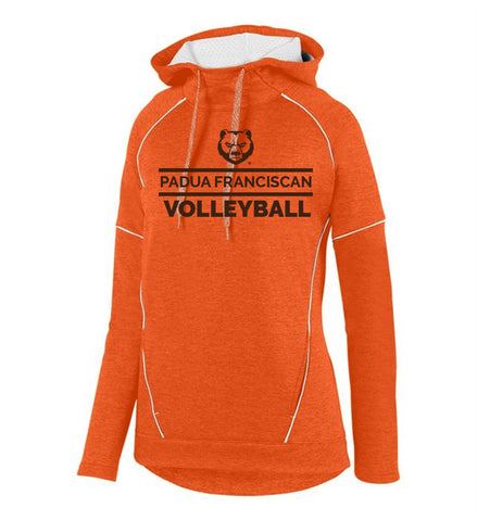 Padua Volleyball Augusta Ladies Zoe Tonal Heather Hoodie