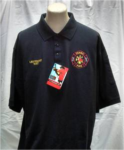 Parma Fire Embroidered 5.11 Tactical Professional Short Sleeve Polo