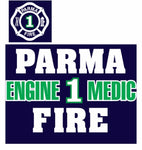 NEW Parma Fire 50/50 Hooded Sweatshirt (Available for all stations)
