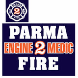 NEW Parma Fire Screenprinted 50/50 T-shirt (Available for all stations)