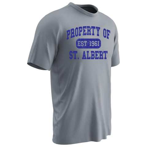 NEW! St. Albert the Great Dry Fit Gym Uniform T-Shirt
