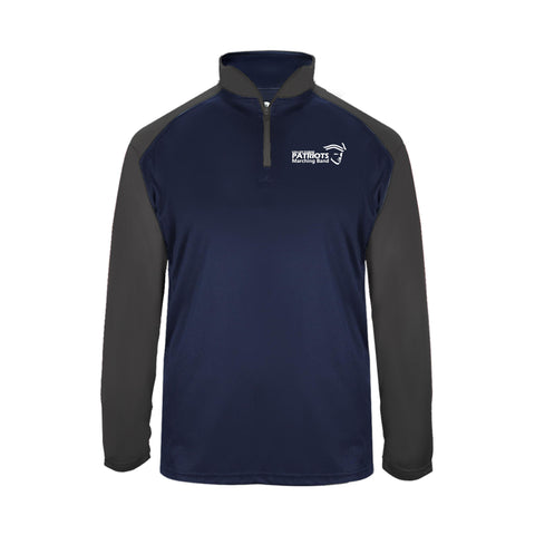 VF Music Badger Ultimate Softlock Dry Fit 1/4 Zip (mens or ladies)