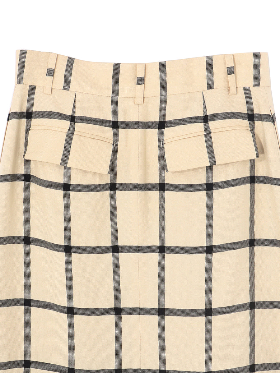 ASYMMETRY HEME SKIRT