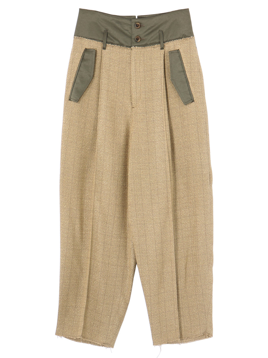 SUMMER TWEED PANTS