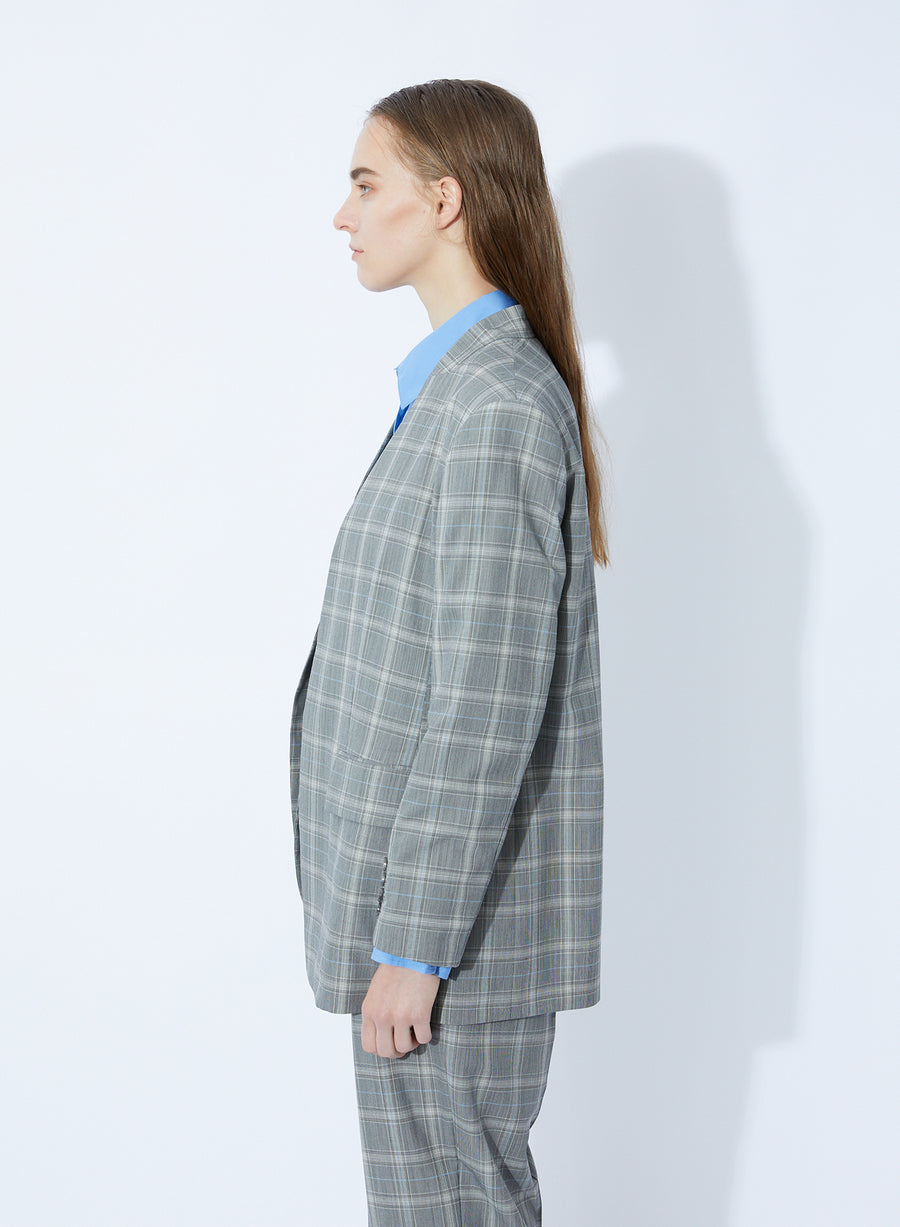 SUPER140'S WOOL TROPICAL JACKET