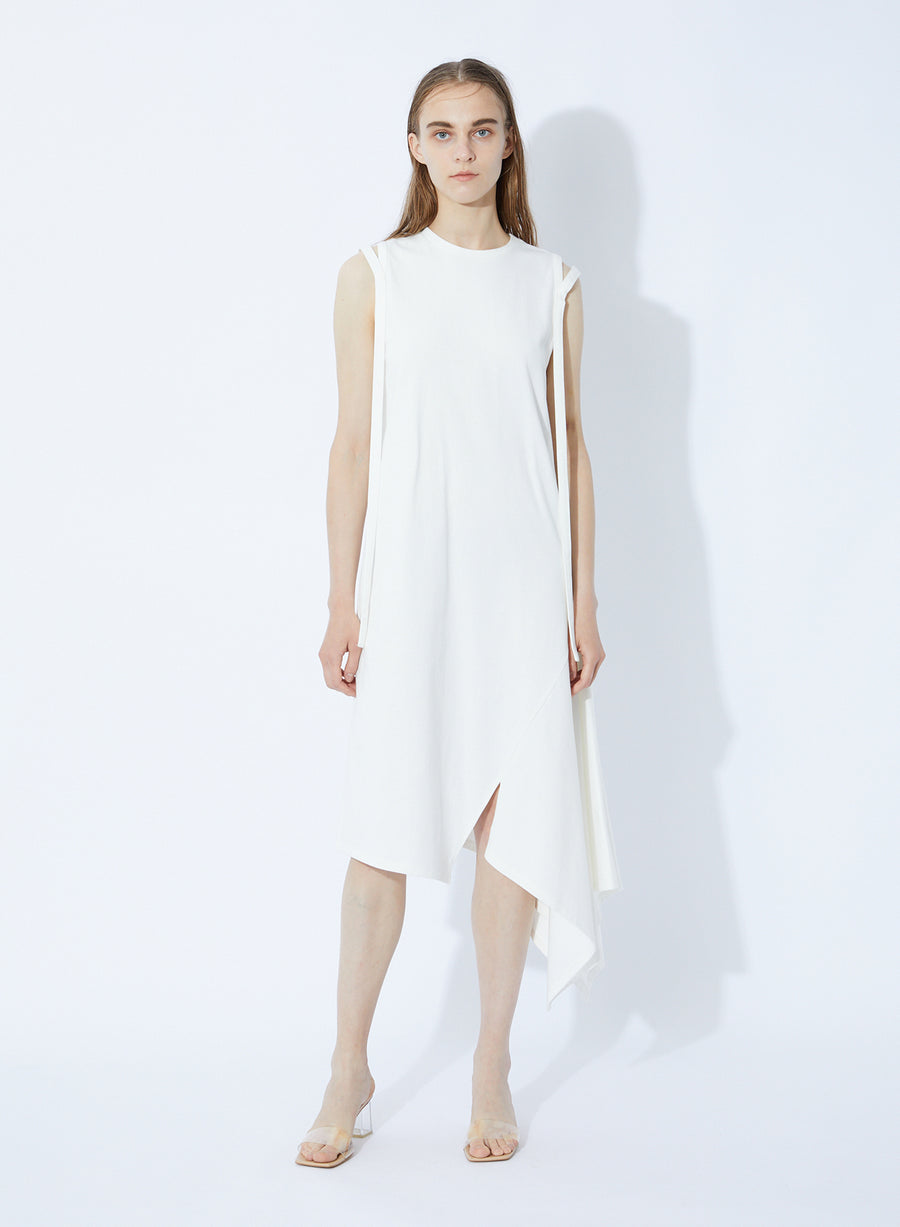 TIGHT COTTON JERSEY DRESS