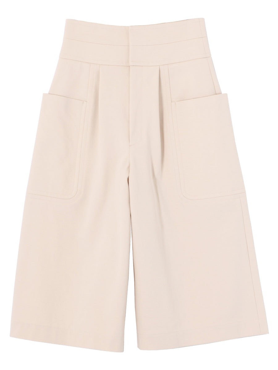 HIGH WAIST CULOTTES WITH BIG POKETS