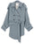DOLMAN SHORT TRENCH COAT