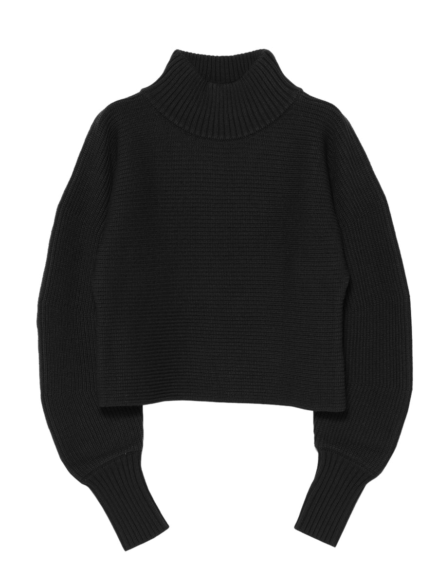 ROUND SLEEVE SWEATER
