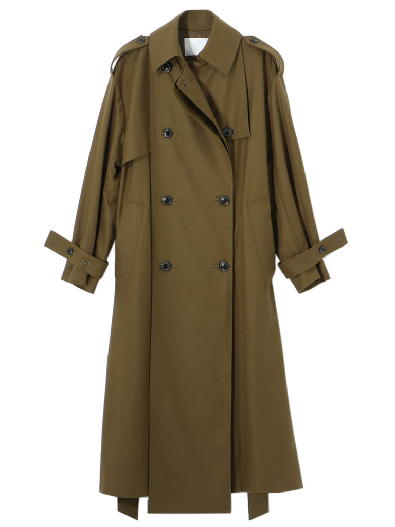 LIGHT FLANNEL COAT