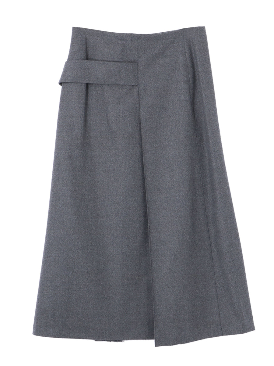 LIGHT FLANNEL SKIRT