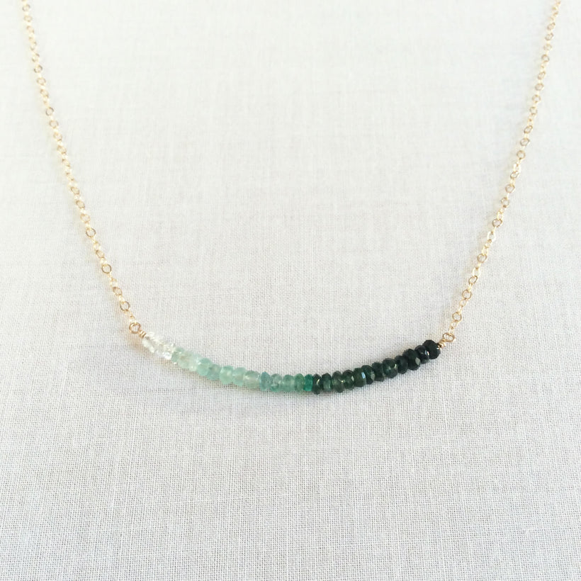 May Birthstone Necklaces