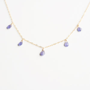 Diana Tanzanite Necklace