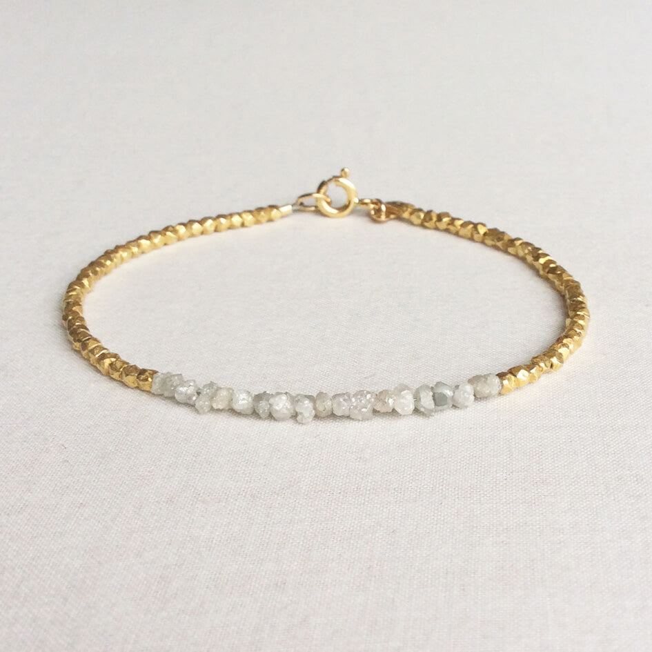 Nefertari Raw Diamond Bracelet
