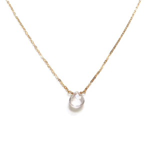 Elegant and classy, the gemstone for love necklace is prized for its pink color and is symbolic of unconditional love and peace.