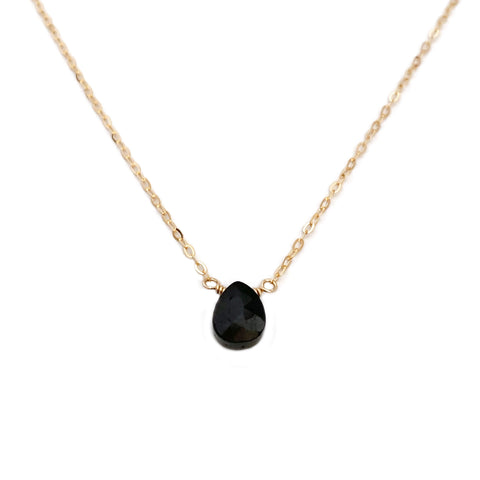 This Black Tourmaline necklace is a protective stone which repels and blocks negative energies