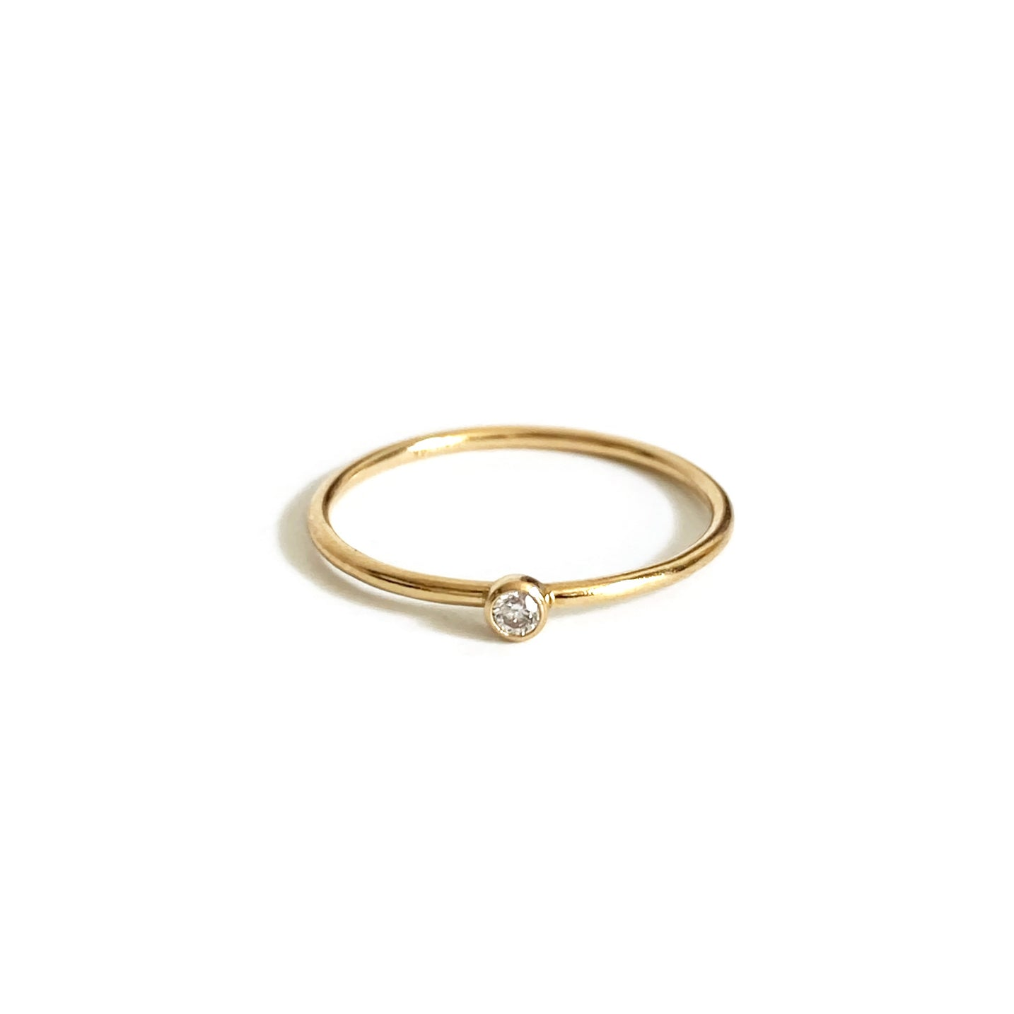 This dainty gold filled ring is a super cute ring.