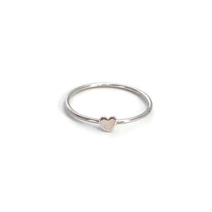 this sterling silver heart ring is a cute heart ring.