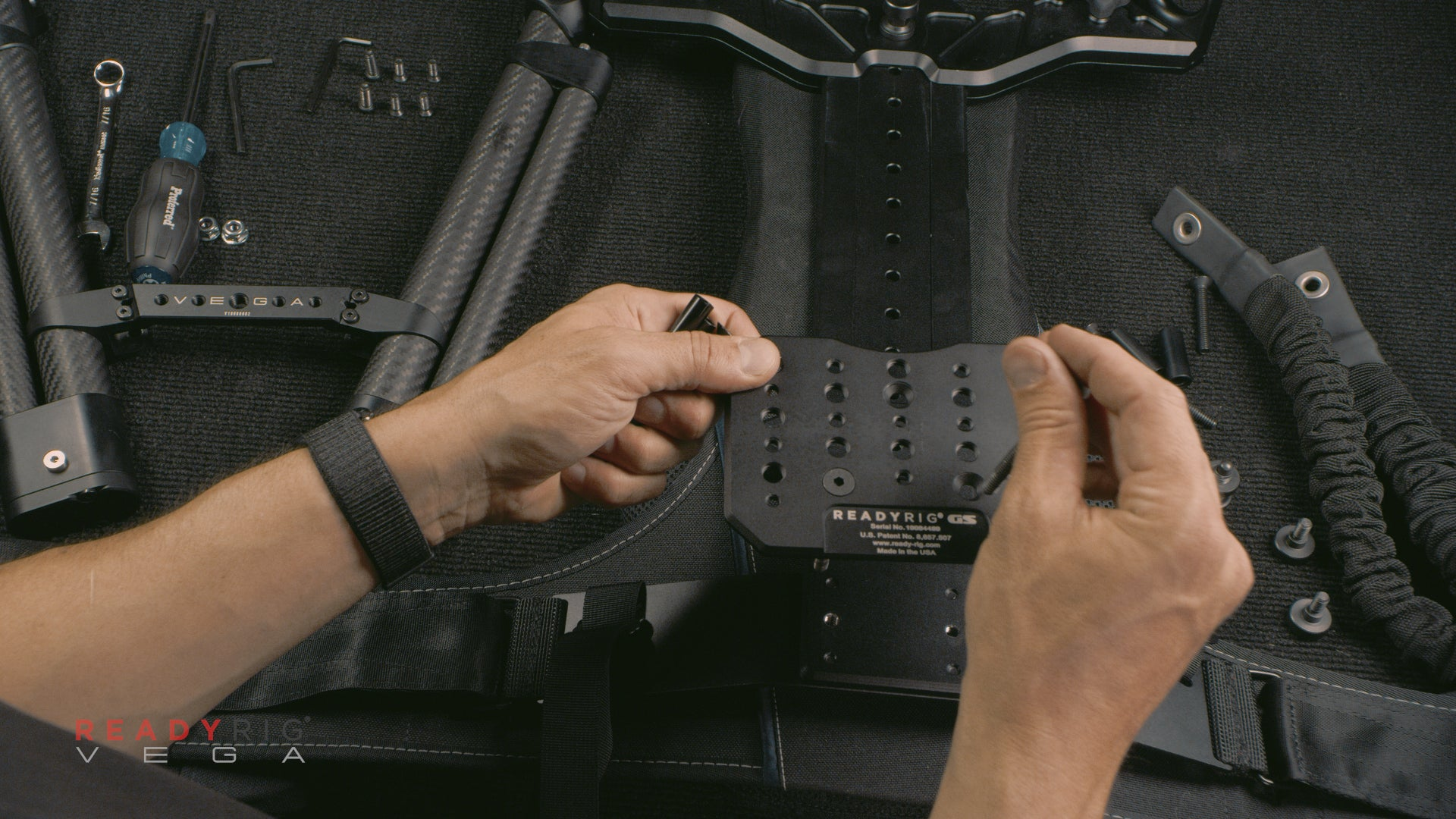 Install new Cheese Plate Screws 3