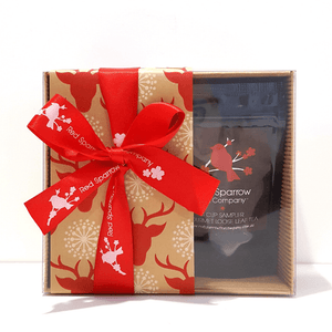 'Christmas Top Ten' Tea Sampler Box - Red Sparrow Tea Company