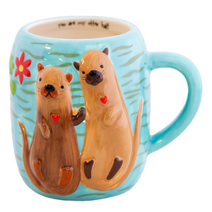 Natural Life - Folk Mug - Otter